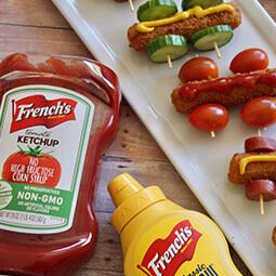 food ketchup mustard UGC content